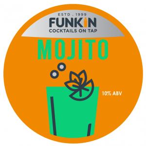 Funkin Mojito Cocktail on tap