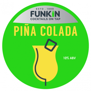 Pina Colada cocktail keg